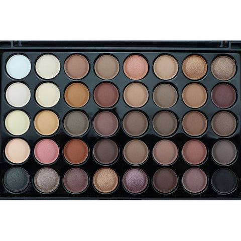 40 Colors Matte Eyeshadow Pallete Make Up Earth Palette Eye Shadow Glitter Waterproof Lasting Makeup - babiesrhere