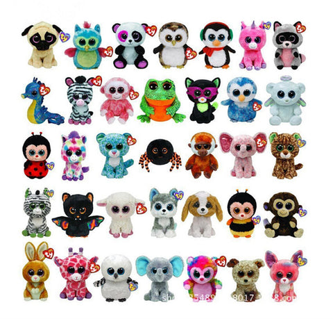Plush Animal Doll Toy Cat Elephant Penguin Foxy Dog Rabbit Panda Monkey Baby Kids Toy