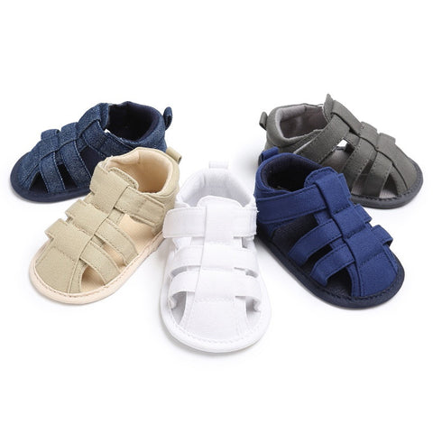 2017 Hot Sale Canvas Jeans New Baby Moccasins Child Summer Boys Fashion Sandals