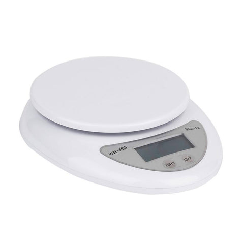 5Kg/1g LCD Display Digital Kitchen Scale Electronic Weight Balance Food Diet Measuring Weight - babiesrhere