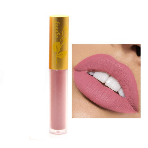 14 Colors maquiagem Matte Lip Gloss Women Lips Make up Matt Liquid Lipstick Makeup Cosmetics LipBalm