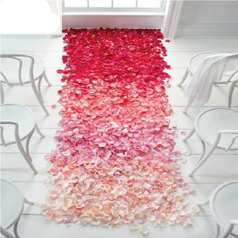 Silk Rose Flower Petals Wedding Party Decoration Decor valentine's day Table Confetti