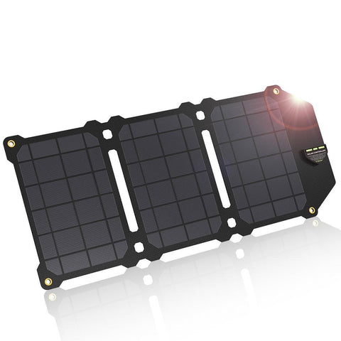21W Mobile Phone Charger Dual USB 5V 4A Solar Panel ETFE Solar Charger for Smartphones - babiesrhere