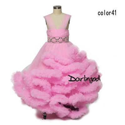 Flower Girls Dresses for Wedding Kids Dress First Holy Dresses for ...