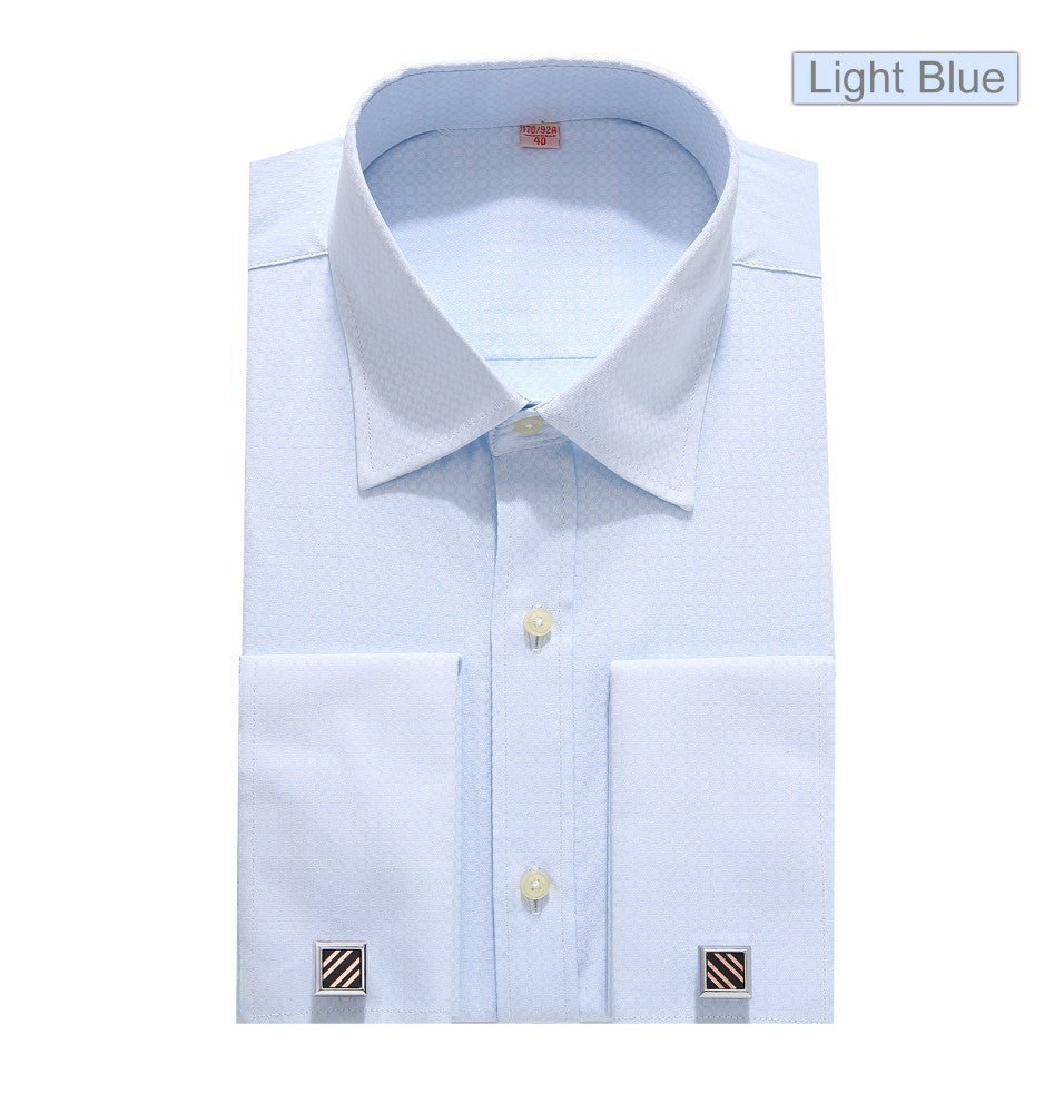 de164bfe7ccb Mens French Cuff Dress Shirts Discount