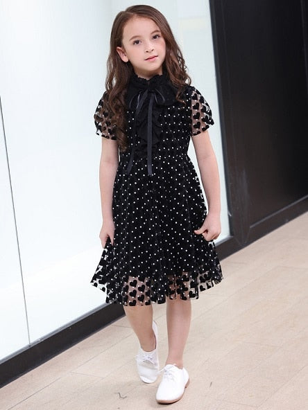 ee0e2acaf25 Teenage Girl Short Sleeve Clothing Solid Kids Casual Dresses 6 8 10 11 12 13  14 16 years