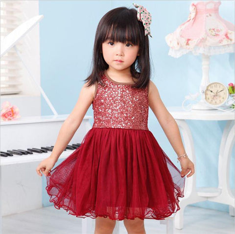 Little Girl Tutu Dress Evening Gown School Costume Summer Children Clothing For Girl 2 3 4 5 6 7 8 9 Year Cute Style Vestidos - babiesrhere
