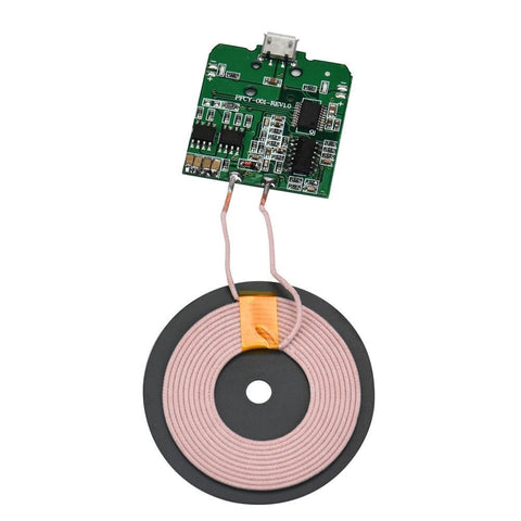 PCBA Circuit Board Coil Wireless Charging Micro USB Port DIY for Samsung S8 S3 i9300 / S4 I9500 S5