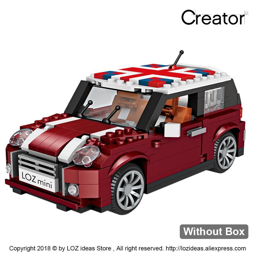 Mini Blocks Car Model 1 24 Building Blocks Technic Creator Racing