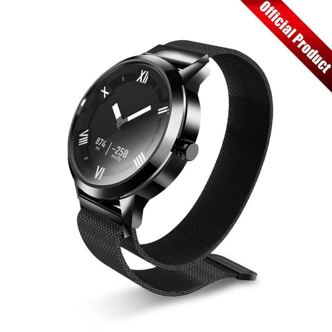 Fashion Watch OLED Screen 80M Waterproof Heart Rate/Air Pressure/Temperature Monitoring - babiesrhere