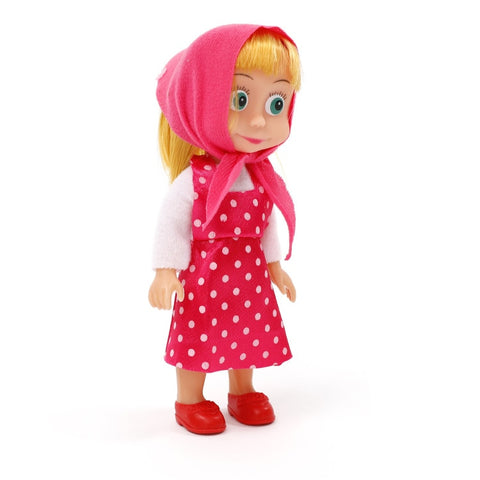 Masha and Bear 15cm PVC Figures Toys for Children Christmas Gifts Kids Toys Doll - babiesrhere
