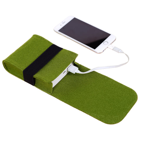 Mini Pouch Charger Storage Bag For Power Bank Cable Electronic Gadgets Travel Accessories