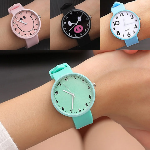 New 2019 Silicone Wrist Watch Women Watches Ladies Top Fashion Quartz Wristwatch - babiesrhere