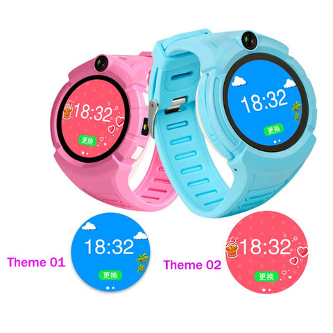 Kids Smart Wrist Watch with Camera GPS WiFi Location SOS Anti-Lost Monitor Tracker baby
