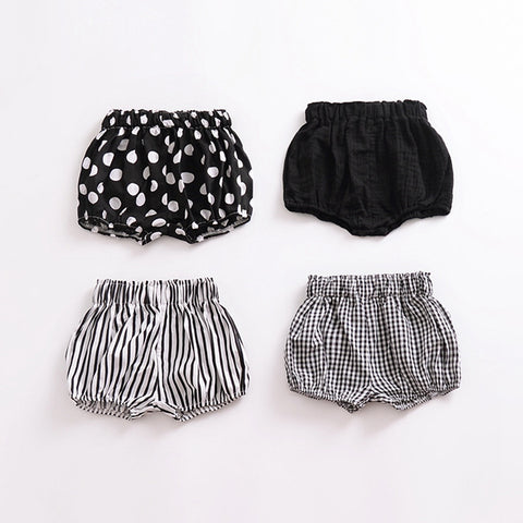 Summer Fashion baby girls boys shorts Newborn Baby bloomers Baby Girl Pattern Shorts - babiesrhere