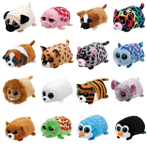 TY Beanie Boo teeny tys Plush - Icy the Seal 9cm Ty Beanie Boos Big Eyes Plush Toy - babiesrhere