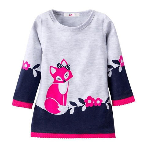 Autumn Winter Girls Kids Dresses For Girl Long Sleeve Party Dresses Christmas - babiesrhere