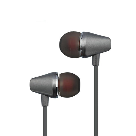 Sports Earphone With Microphone 3.5mm In-Ear Stereo Earbuds Headset For Computer