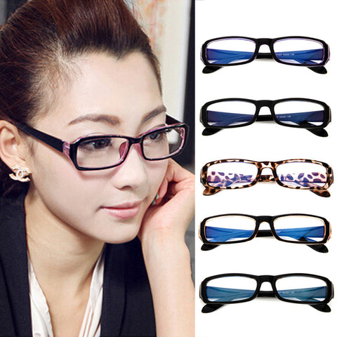 Vintage Clear Lens Eyeglasses Read Computer Glass Men Women Transparent Optical Frames