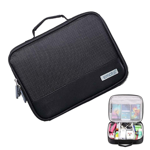 Waterproof Electronic Accessories Travel Bag Mens Travel Organizer For USB Cable Bag