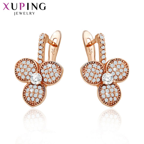 Fashion Earrings High Quality European Style Charm Design Gold Color Plated Costume Jewelry - babiesrhere