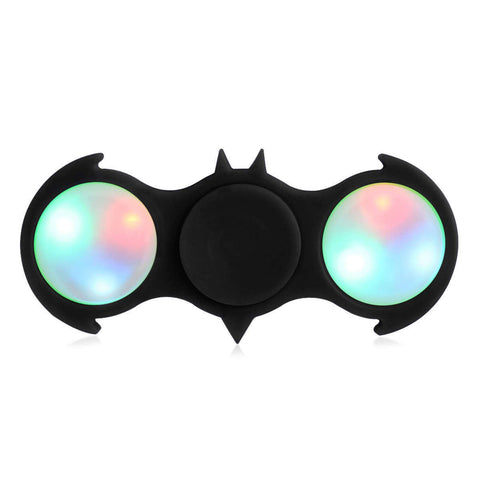 Batman LED Fidget Spinner EDC Anti Stress Toys Finger Spinner Brass Hand Spinners Focus KeepToy And ADHD