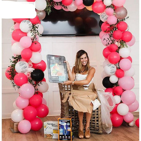 TOMOSON: FENGRISE Air Balloons 20pcs 10inch Latex Helium Arch Pearl Party Balls Decoration Festive Events