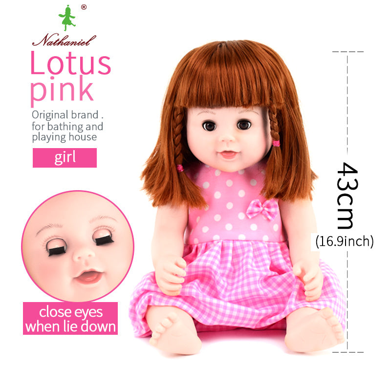 Close Eyes 40cm Baby Dolls Lol Siliconen Poppen Reborn Toys