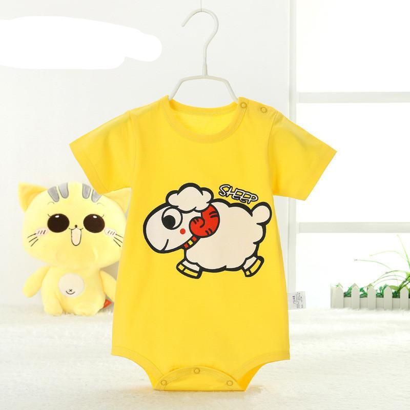 4a71a6361522 Summer Newborn Baby Rompers 100% Cotton 3 colors BabyClothing for Striped Baby  Romper Roupa Infantil