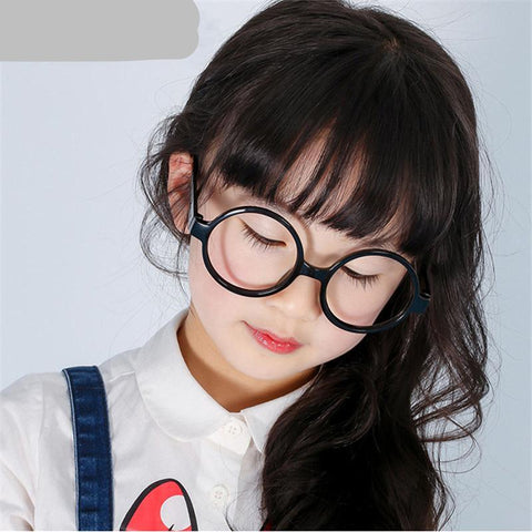 Round Cute Baby Girls Boys Glass Frame Harry Potter Lovely Children Eyeglasses Frame - babiesrhere