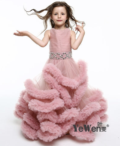 long graduation dresses Turkey Turkish Evening Dresses Gowns Kids Pregnant Infant Party Girls Dress clothes for girls 12 years - babiesrhere