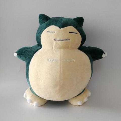 New Snorlax Soft Toy Plush Doll Collection For Kids Holiday Best Gift 10.5inch 27cm
