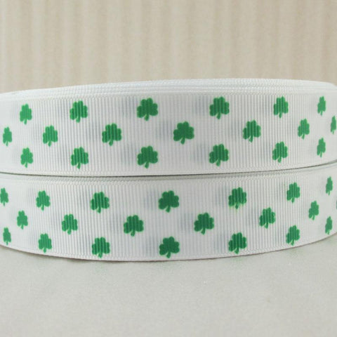 "7/8""(22mm) St Patricks day high quality printed polyester ribbon 5 yards,DIY handmade materials,wedding gift wrap - Babiesrhere"