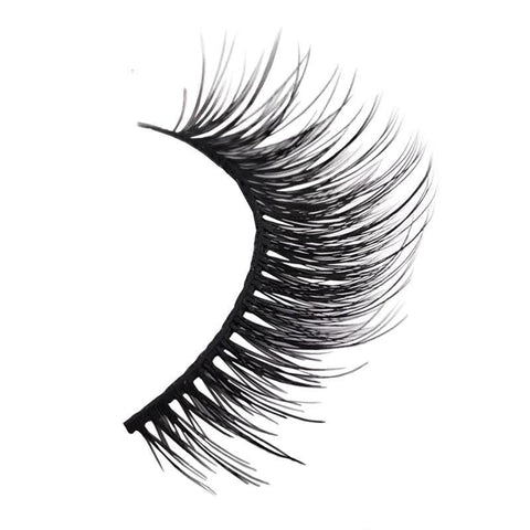 New 3 pairs natural false eyelashes fake lashes long makeup 3d eyelash mink eyelashes for beauty - babiesrhere
