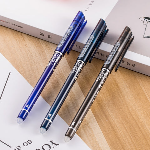 1pcs Erasable Pen Blue / Black / Ink Blue Magic Pen Office Supplies - babiesrhere