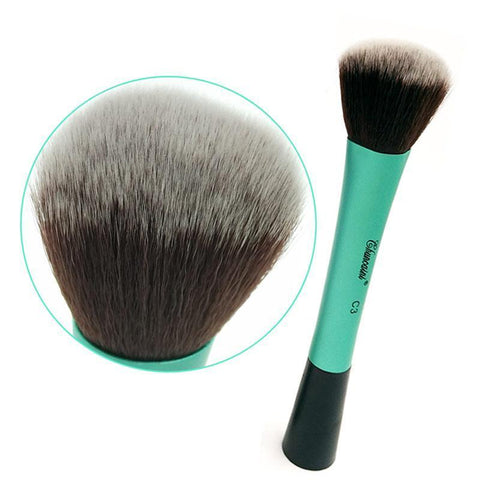 1 PC Professional Round Makeup Brush Loose powder Brush Cosmetic Loose Powder Blusher Beauty Tool - babiesrhere