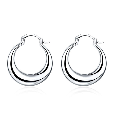 3 Pairs Hoop Earring in Gold Plating Jewelry