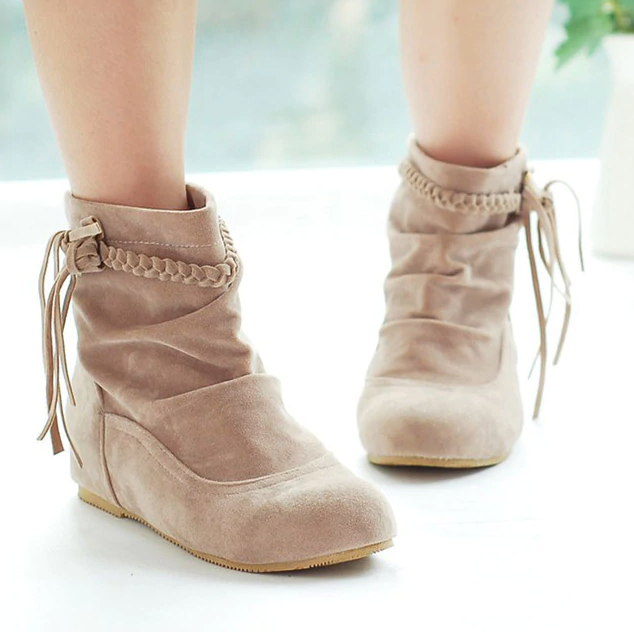 Bare Women's Ankle Beige Brown Ultra Seller Shoes