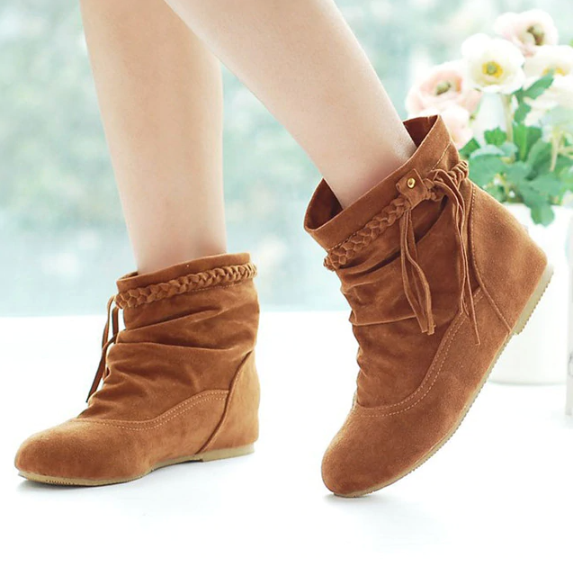 Bare Women's Ankle Brandy punch Brown Ultra Seller Shoes
