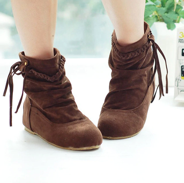 Bare Women's Ankle Boot Brown Ultra Seller Shoes