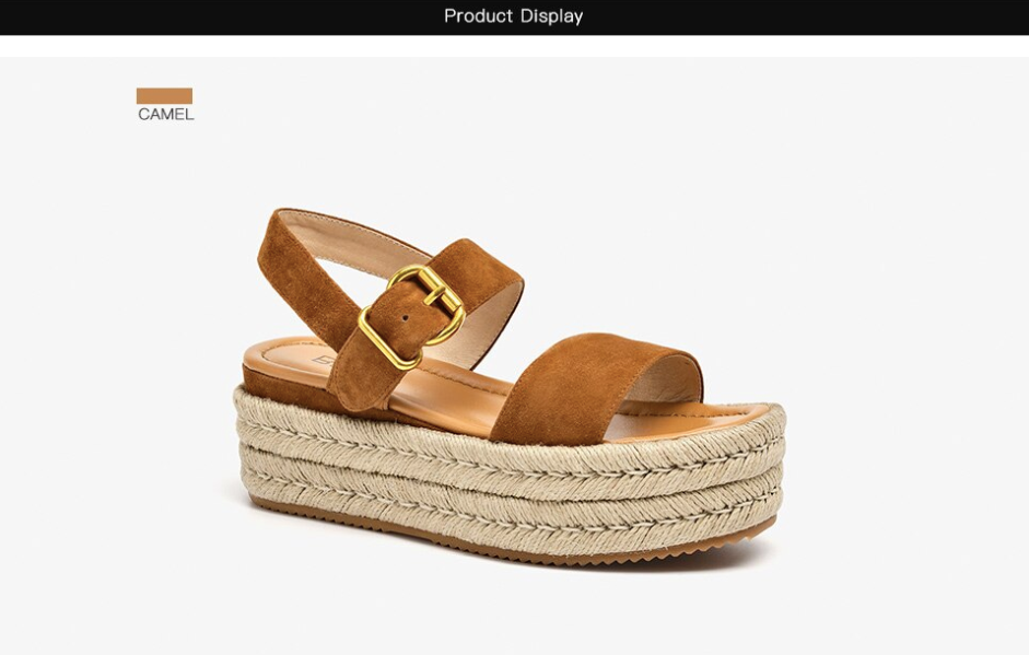 Nala Wedges Color Camel Ultra Seller Shoes Website Store