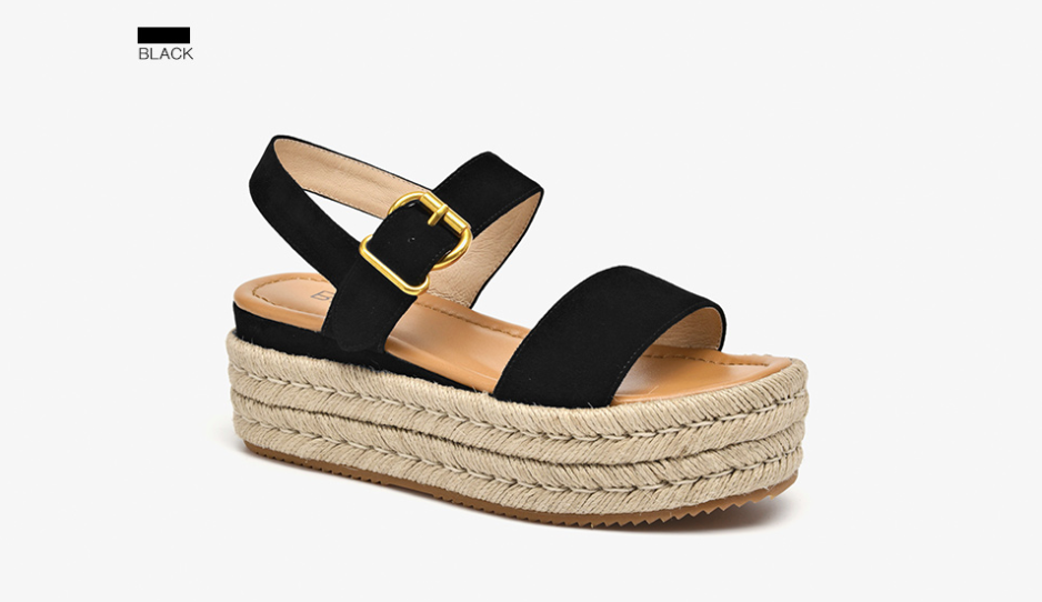 Nala Wedges Color Black Ultra Seller Shoes Website Store