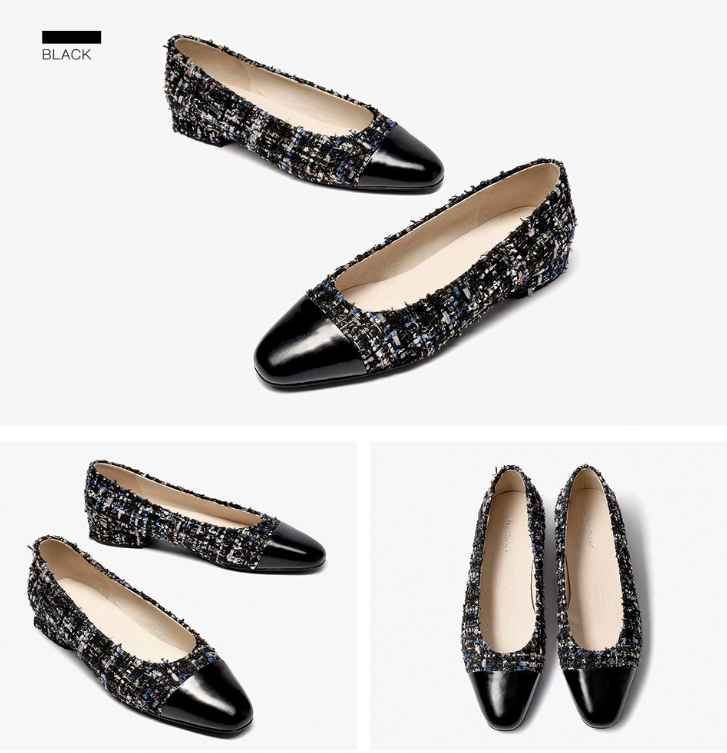 Leda Flat Ultra Seller Shoe Color Black Online Shop