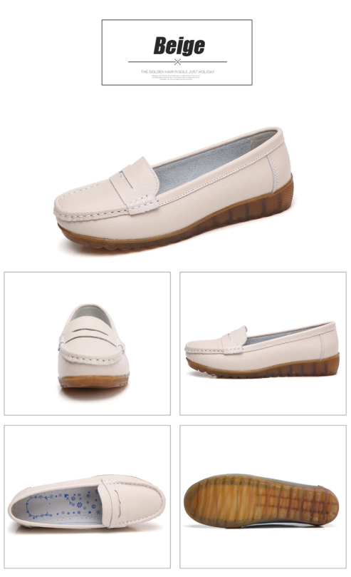 Silbia Loafers  Ultra Seller Shoes Color Bieg Cheap Flat
