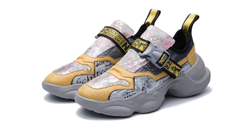 Evel Sneakers Confortable Shoes Ultra Seller Store Color white/Yellow