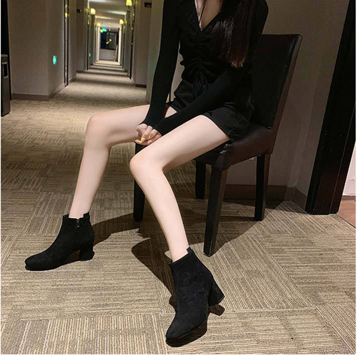Ania Boots Shoe Color Black Ultra Seller Shoes Cheap Boots