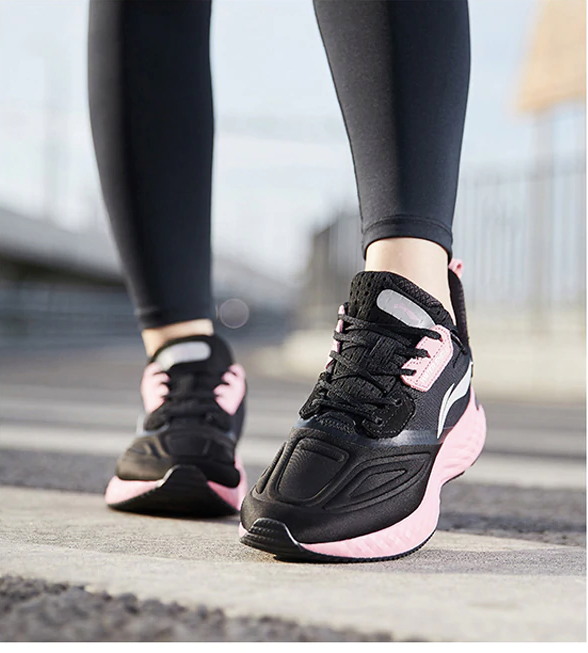 Goose Running Color Black/Pink Ultra Seller Shoes Website Store