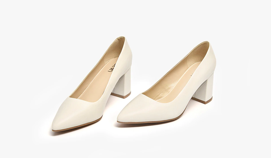Ostrich Pumps Shoes Color Beige Ultra Seller Shoes Website Store