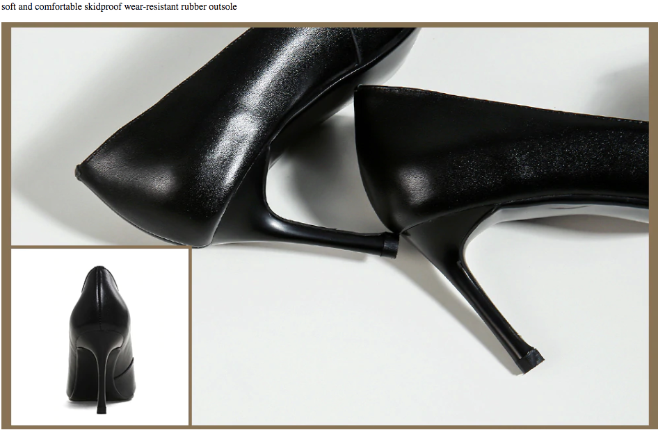 Sposito Pumps Shoes Ultra Seller Shoes Online Shop Color Black