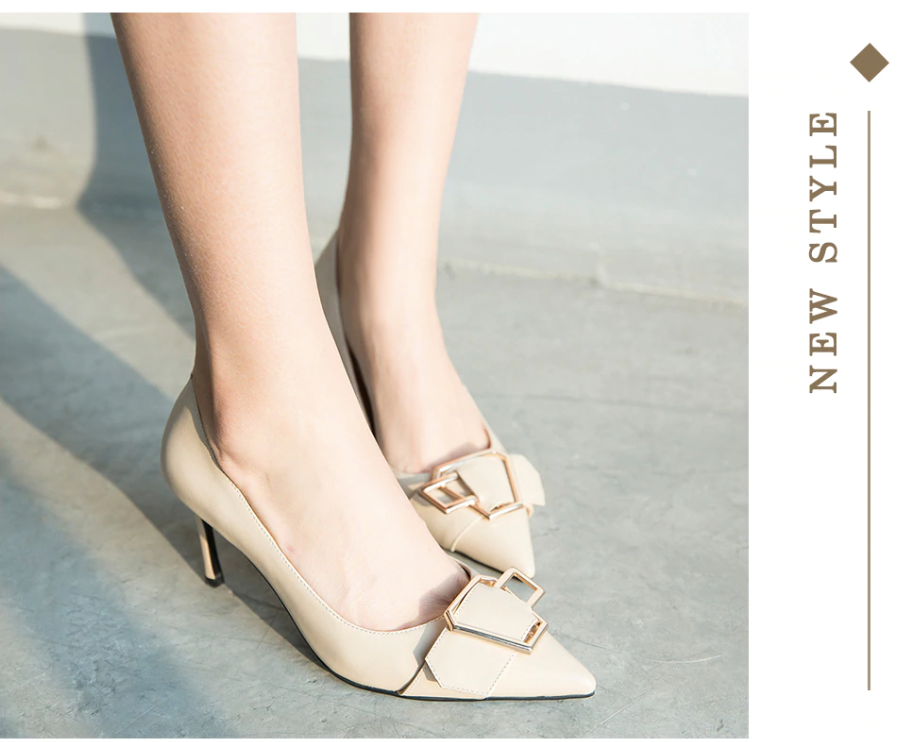 Sposito Pumps Shoes Ultra Seller Shoes Online Shop Color Beige